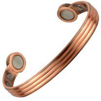 Super Strong MAGNETIC Bracelet/Bangle Antique Copper DESIGN 6 Magnets Health Rare Earth NdFeB