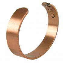 Copper MAGNETIC Bracelet/Bangle Matt Cuff DESIGN 6 Magnets Health Rare Earth NdFeB