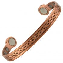 Super Strong MAGNETIC Bracelet/Bangle Copper Link DESIGN 6 Magnets Health Rare Earth NdFeB