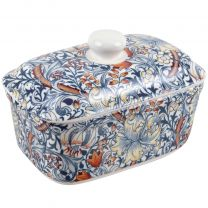 Classic Butter Dish by The Leonardo Collection William Morris Golden Lily Range