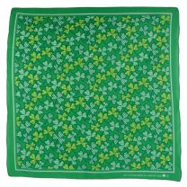 Clover 100% Cotton Bandana Scarf Fancy Dress Festivals St. Patrick's Day