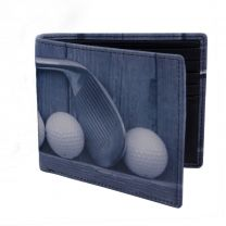 Mala Leather Mens Slim Wallet Retro Golf Gift Boxed Kalmin Collection