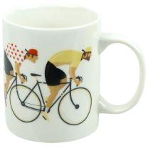 Cycle Works China Team Cycling Cyclist Bicycle Mug Gifts Boxed