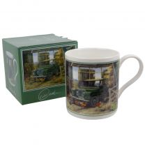 Classic Land Rover Mug/Cup by Brian Tovey Gift Boxed