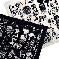 Pickled Moon Unisex Zulu African Tribal 100% Cotton Bandana Bandanna