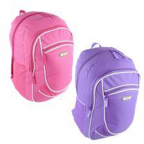 Ladies Girls Backpack Rucksack Bag by Hi-Tec 2 Colours School College Work Travel