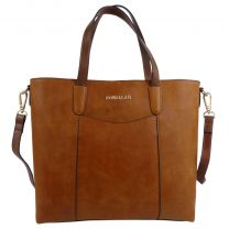 Rowallan of Scotland Leather Womens Tote/Handbag Askana in Cognac