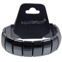 Quality Mens Ladies Equilibrium Large Stretchy Expandable Hematite Bracelet