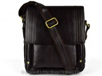 MENS LADIES Leather MESSENGER Cross Body BAG By PRIMEHIDE Travel In