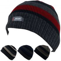 Men's Rock Jock R40 Thermal Insulation Lined Beanie Hat 4 Colours