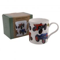 The Leonardo Collection China Classic Tractor Mug/Cup Farmyard Gift Boxed