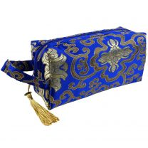 Womens Small Make-up Travel Bag by Danielle Brocade Collection Toiletries