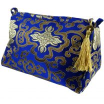 Womens Small Cosmetic Bag by Danielle Brocade Collection Toiletries Ladies