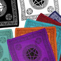 Pentagram Symbol XL Bandana/Scarf Wall Hanging Wicca Pagan