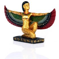 Golden Isis Wings Stretched Ancient Egypt Egyptian Collectible Gift