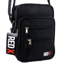 Compact Mini Cross Body Bag by Red X Handy Shoulder Utility/Travel Work
