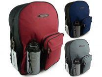 Unisex Canvas Backpack Rucksack by Spirit Sport School Work Gym Water Bottle