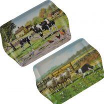 Farm Yard Mini Tray by Leonardo; Macneil Collection Gift Farming