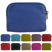 Ladies Super Soft Leather Coin Purse in 10 Colours by Golunski with Credit Card Slots