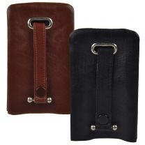 Top Quality LARGE Cowhide LEATHER Bell Key Case by Golunski 2 Colours Handy