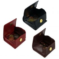Mens Ladies Top Quality Leather Coin Tray/Purse by Golunski Branded Collection Magnetic Popper