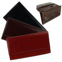 Leather Travel Document Holder/Wallet by Golunski Handy Travelling Accessory