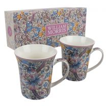 Set of 2 Mugs Golden Lily by The Leonardo Collection, William Morris