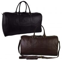 Ladies Mens Large Leather Holdall by Underwood & Tanner Hansson Travel Overnight