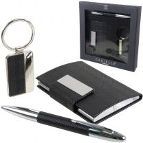 Business Card, Pen and Key Fob Gift Set by Danielle Creations