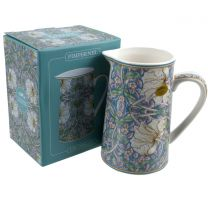 China Jug by William Morris Pimpernel Design Gift Boxed Pale Green