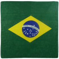 Mens Ladies Boys Brazil Flag Bandana Bandanna Samaba Rio Carnival Sugarloaf Mountain