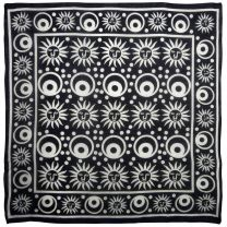 Pickled Moon Wall Hanging Altar Cloth Sun And Moon Scarf  Cotton Lightweight Pagan