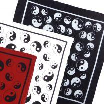 Yin Yang Cotton Bandanna Taoist Daoist Scarf
