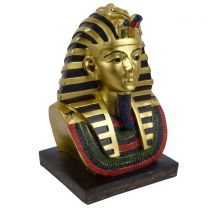 Large 22cm in height Golden Tutankhamen Ancient Egyptian Figurine