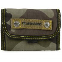 Mens Boys Camouflage Wallet Camo Design by Obsessed Surf Style
