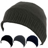 Men's Rock Jock 3M Thinsulate Lined Beanie Hats One Size 4 Colours