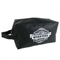 Mens Wash Bag Utility Toiletries - Black