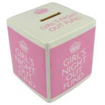 The Leonardo Collection Ladies Ceramic Cube Bank Money Box Range