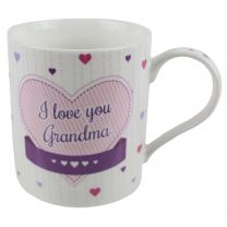 China I Love You Nan or Grandma Mug/Cup by The Leonardo Collection Gift Box Mothers Day