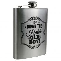 Mens Stainless Steel Hip Flask