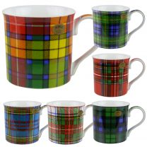 Fine China Tartan Clan Collection Mug/Cup by Leonardo Gift Box Classic Design