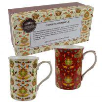 The Leonardo Collection 2 China Mugs/Cups Constantinople Range