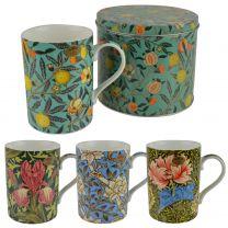 The Leonardo Collection Fine China Coffee Mug/Cup & Coaster