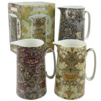 Fine China William Morris Floral Design Jugs by The Leonardo Collection