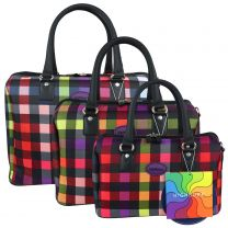 Ladies Mens *Cabin Approved* Weekend Holdall Bag by Highbury Multi-Box Travel