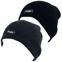 Men's Heatguard Thinsulate Beanie Hat 2 Colours One Size