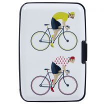 Bicycle Cardholder Wallet Hard Case Contactless Protected