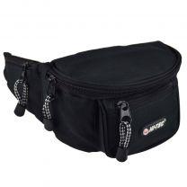 Hi-Tec Mens Bum Bag Travel Utility Practical Handy Fanny Pack Waist Black
