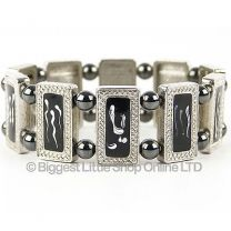Ladies Magnetic Hematite Bracelet Pretty Magnet Therapy Free Gift Boxed