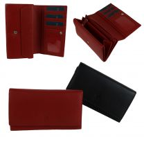 Ladies Leather Matinee Purse Wallet by Prime Hide Handy Gift